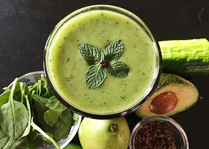 Luck of the Irish Smoothie