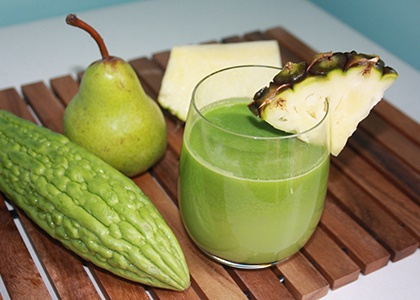 A Bitter Melon Juice for Weight loss